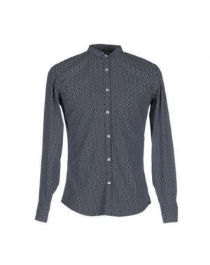 Pубашка 26.7 TWENTYSIXSEVEN. Цвет: темно-синий
