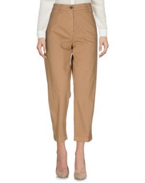 Повседневные брюки DEPARTMENT 5. Цвет: верблюжий