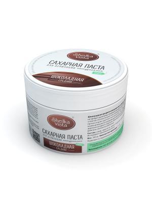 Шоколадная сахарная паста Shelka Vista (средняя) 500g SHELKAVISTA. Цвет: темно-коричневый