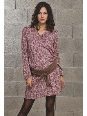 Легкое платье из ткани с этническим принтом Balloon-Paris