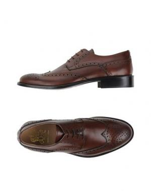 Обувь на шнурках VIA DEI CALZAIUOLI. Цвет: какао