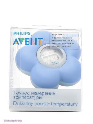 Термометр для ванной и помещений Philips Avent SCH550/20. Цвет: голубой