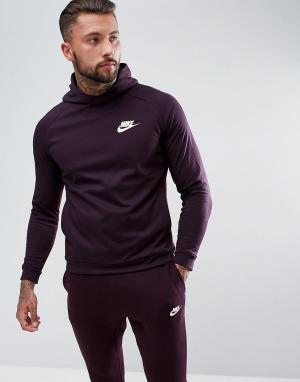 Nike Фиолетовый худи AV15 861738-652. Цвет: фиолетовый