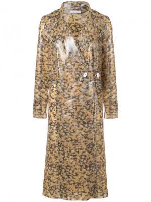 Mottled raincoat Wanda Nylon. Цвет: коричневый