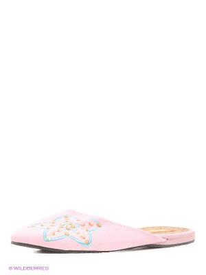 Тапочки Kapprise. Цвет: розовый