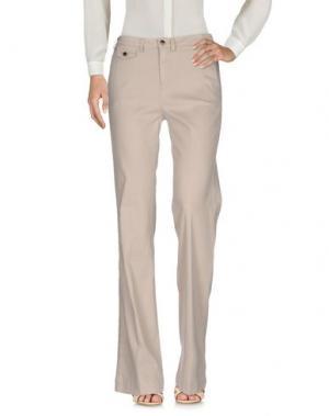 Повседневные брюки KAOS JEANS. Цвет: бежевый