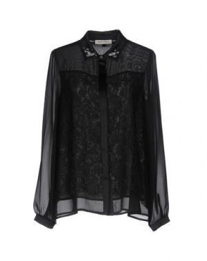 Pубашка ANGELO MARANI. Цвет: черный