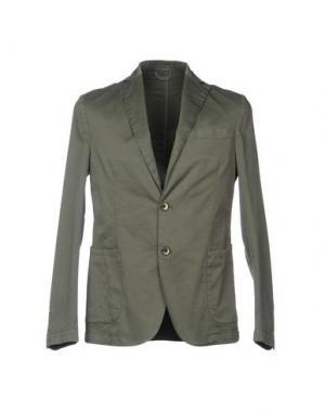 Пиджак SSEINSE. Цвет: зеленый-милитари