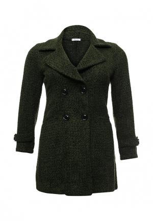 Пальто Aurora Firenze. Цвет: зеленый