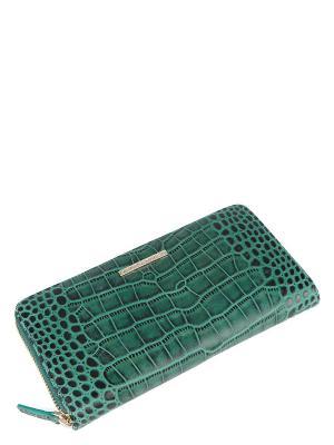 Кошелек Eleganzza. Цвет: зеленый