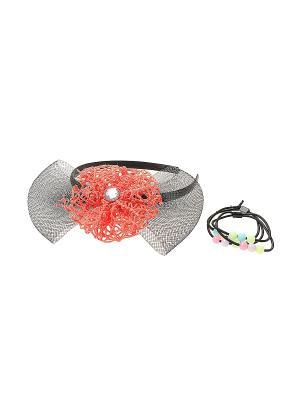 Ободок Migura. Цвет: коралловый, розовый, черный, зеленый, голубой