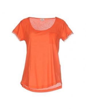 Футболка INTROPIA. Цвет: оранжевый