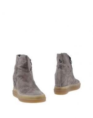 Полусапоги и высокие ботинки RUCO LINE. Цвет: серый