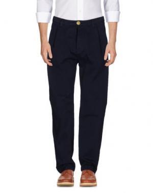 Повседневные брюки NORTH SAILS. Цвет: синий
