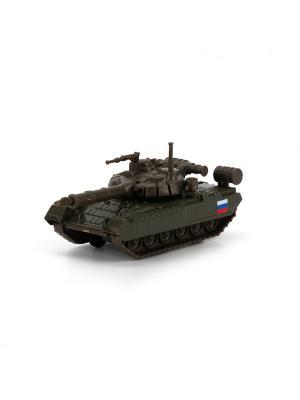 Инерционный танк Т-90 Технопарк. Цвет: темно-зеленый