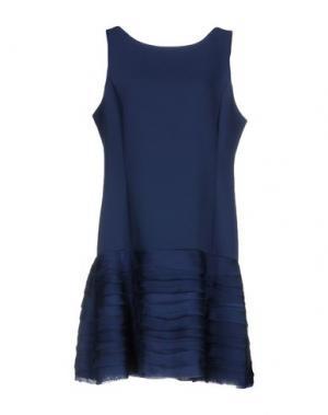 Короткое платье LIST. Цвет: грифельно-синий