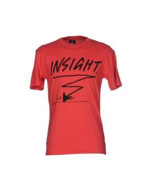 Футболка 0051 INSIGHT. Цвет: красный