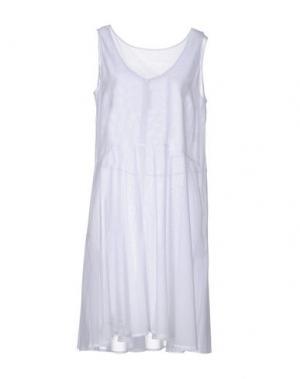 Платье до колена LA FABRIQUE. Цвет: белый
