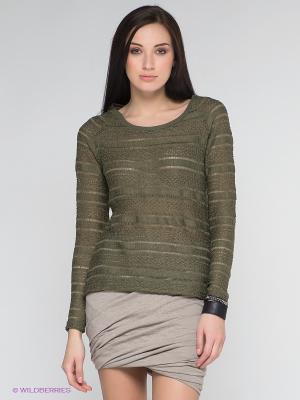 Джемпер Vero moda. Цвет: темно-зеленый