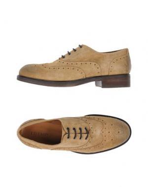 Обувь на шнурках TREMP. Цвет: песочный