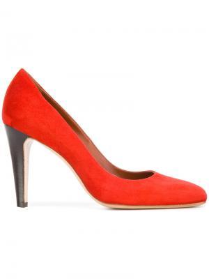 Туфли Delicate Michel Vivien. Цвет: красный