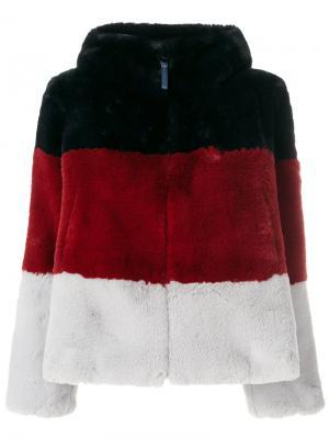 Куртка в полоску Dondup. Цвет: многоцветный