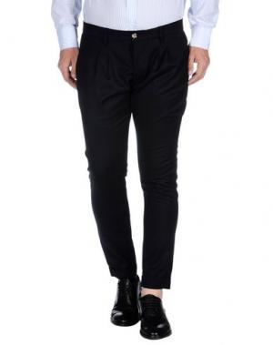 Повседневные брюки - -ONE > ∞. Цвет: темно-синий