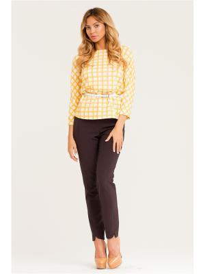 Блуза Vittoria Vicci. Цвет: желтый