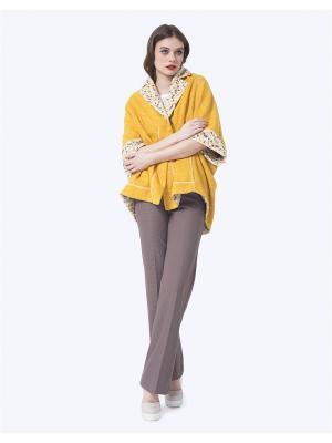 Пальто LO. Цвет: горчичный