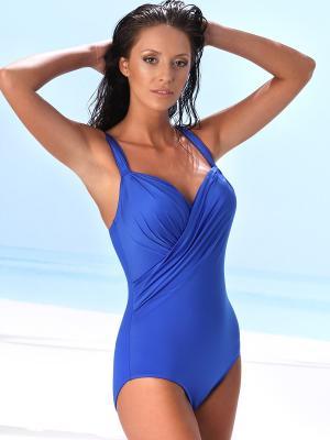 Слитный купальник Jolidon. Цвет: синий
