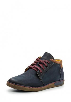 Ботинки Domeno. Цвет: синий