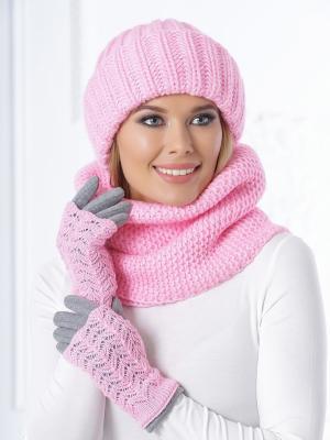 Снуд Siberika. Цвет: розовый
