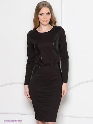 Платье Enna Levoni. Цвет: темно-коричневый