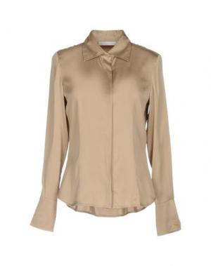Pубашка SILK AND CASHMERE. Цвет: песочный