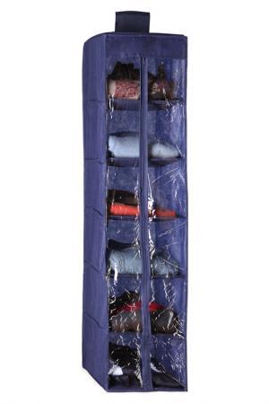 Подвесной чехол для обуви NIKLEN. Цвет: синий