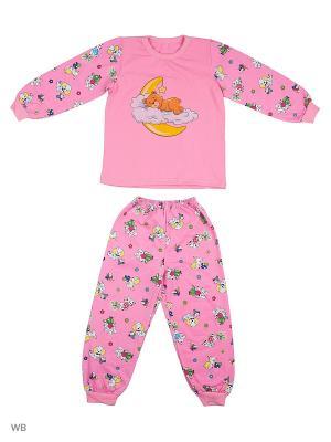 Пижама Babycollection. Цвет: розовый