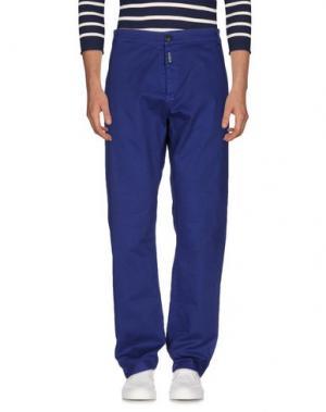 Джинсовые брюки MOLO ELEVEN. Цвет: темно-синий