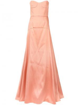 Панельное расклешенное платье Rochas ROPL510204RL250400A12296355