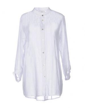 Pубашка NÖE. Цвет: белый