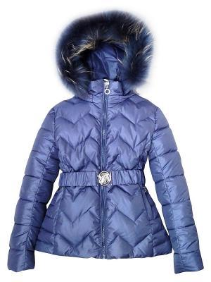 Куртка Pulka. Цвет: индиго