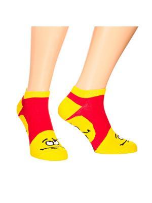 Дизайнерские Носки St.Friday Socks. Цвет: желтый