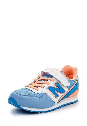 Кроссовки New Balance. Цвет: голубой