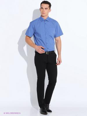 Рубашка Maestro. Цвет: темно-синий