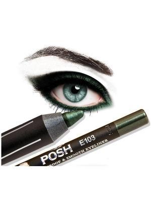 Косметический карандаш POSH.. Цвет: зеленый