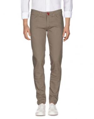 Джинсовые брюки BARONIO. Цвет: серый