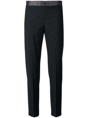 Укороченные брюки с узором Ps By Paul Smith. Цвет: чёрный