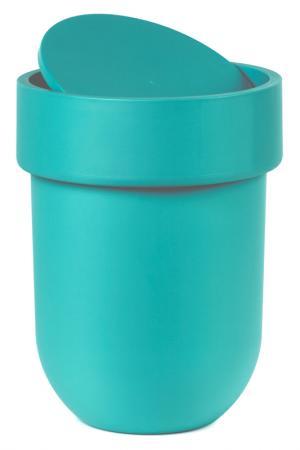 Контейнер мусорный Touch UMBRA. Цвет: голубой