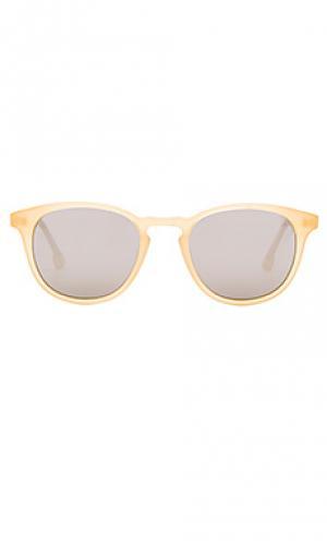 Солнцезащитные очки willard Steven Alan. Цвет: желтый