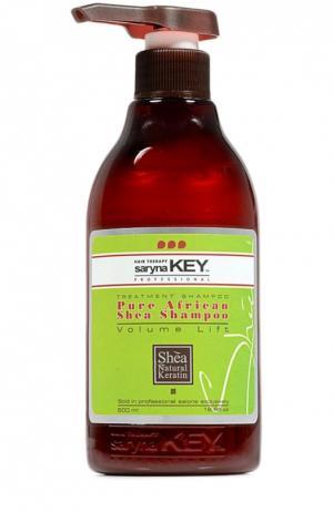 Восстанавливающий шампунь для тонких волос Volume Lift Saryna Key. Цвет: бесцветный
