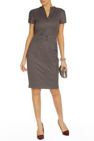 Платье BGN. Цвет: серо-коричневый